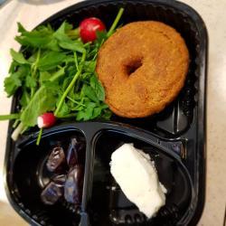 پک شامی ، پنیر و خرما