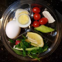 تخم مرغ آبپز2تایی