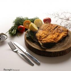 ماهی قزل آلا با سس انار