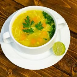 سوپ جوجه محلی
