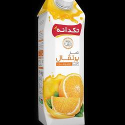 آب میوه 1 لیتری تک دانه پرتقال