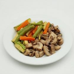 قارچ و سبزیجات