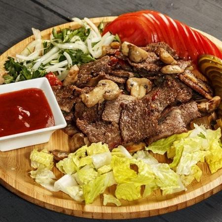 دنر کباب گوشت