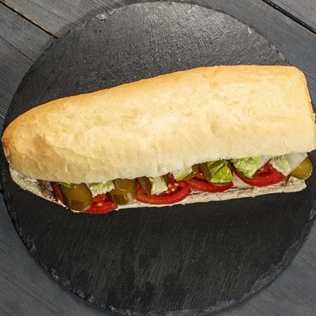 دنر کباب گوشت ساندویچ