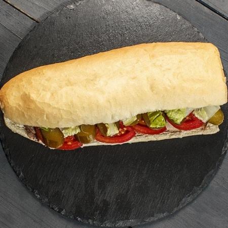 دنر کباب مخلوط ساندویچ
