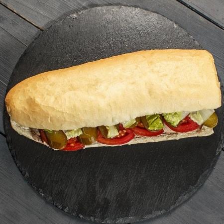 ساندویچ هات داگ پنیری